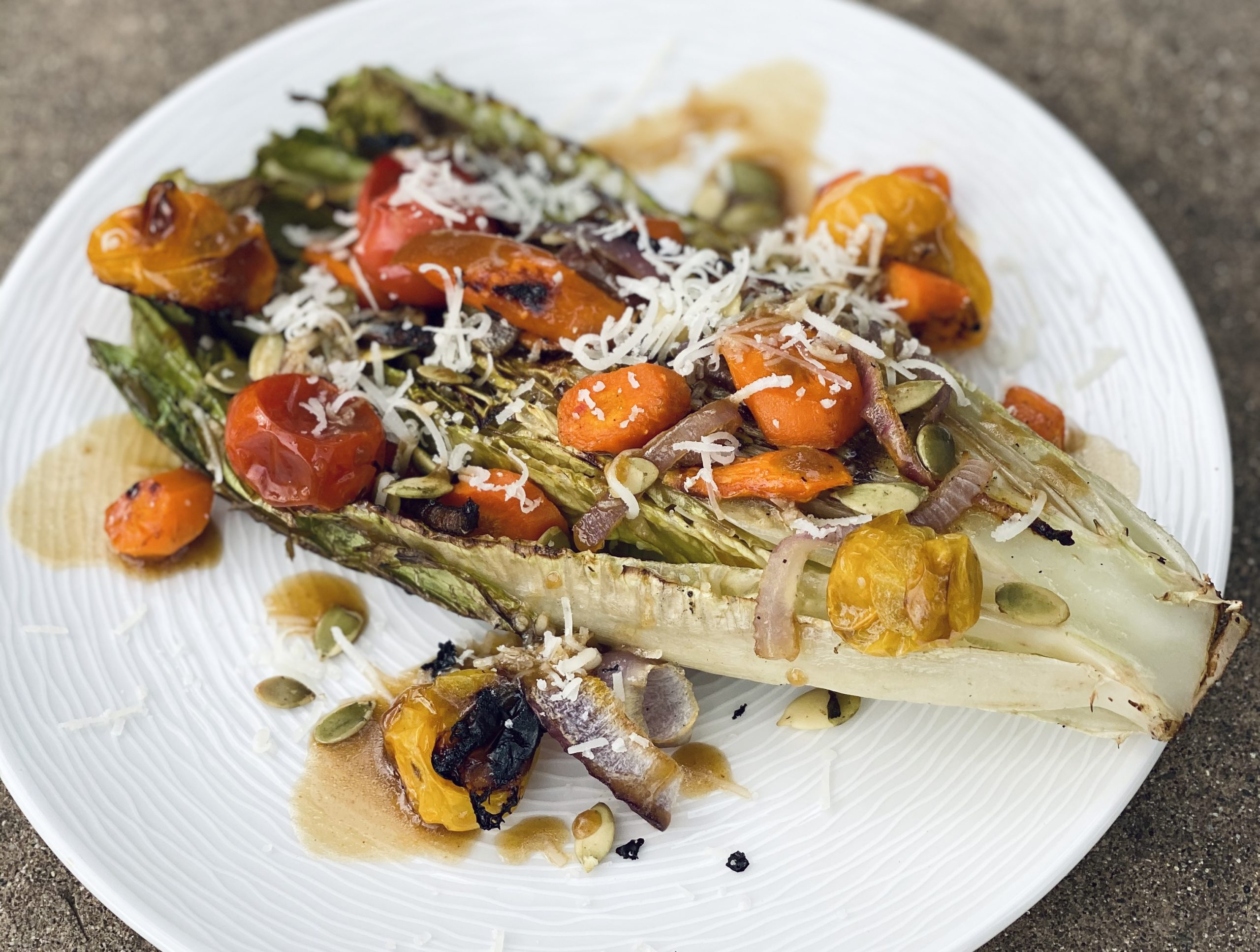 Summer Grilled Salad